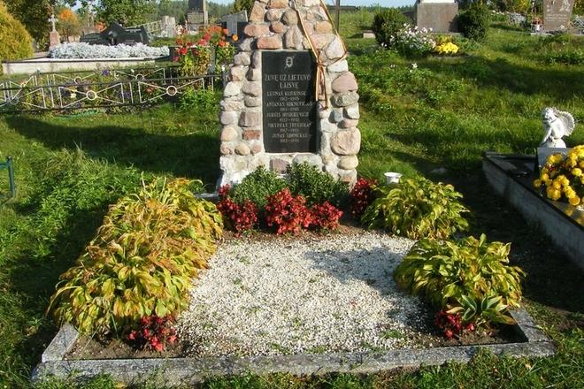 Lietuvos partizanų kapas (Lazdijų kapinės)