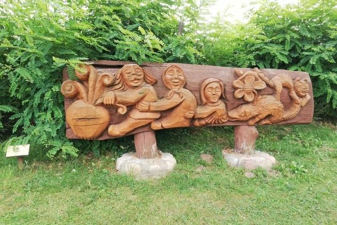 """Skulptūrų parkas """"Vaikystės sodas"""""""