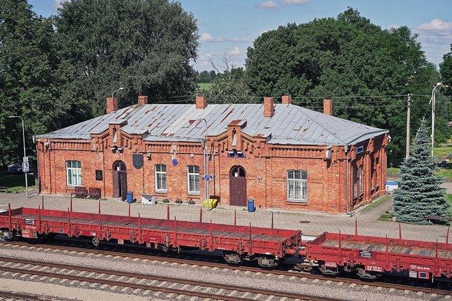 Complex of Šeštokai Railway Station Buildings