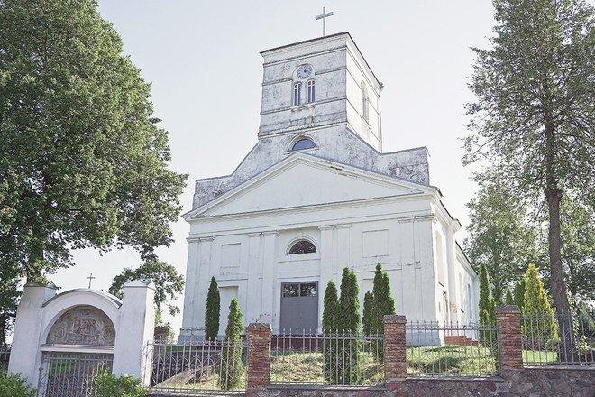 Seirijų Švč. Mergelės Marijos Škaplierinės bažnyčia