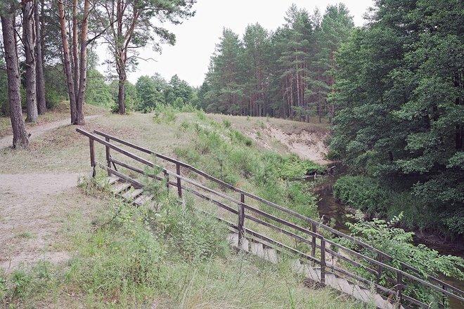 "Ancient settlement of Kapčiamiestis called ""Pinčiaragis"""