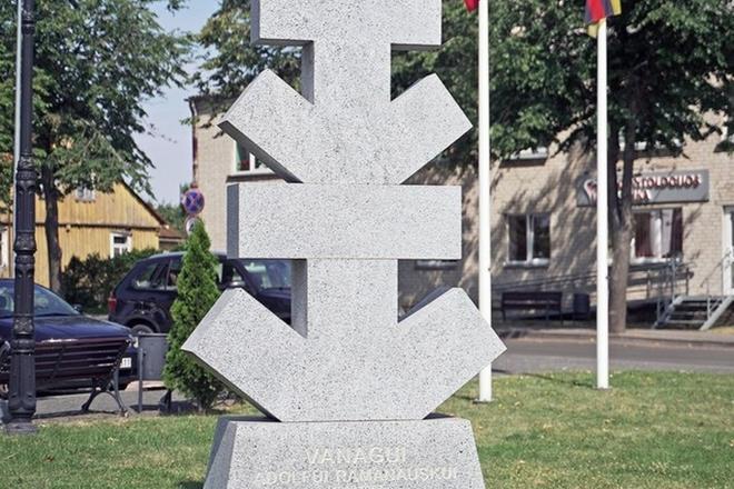 Paminklas Adolfui Ramanauskui-Vanagui