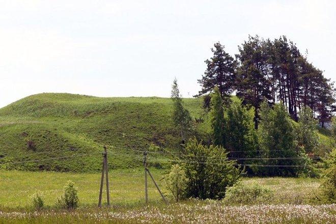 Elveriškės piliakalnis su gyvenviete