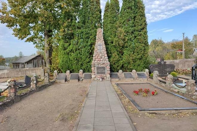 Monument to the partisans of Veisiejai region