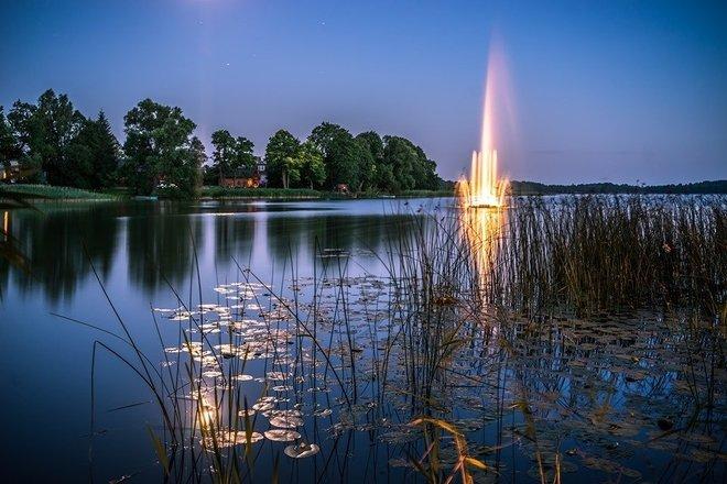 Musical fountain of Veisiejai